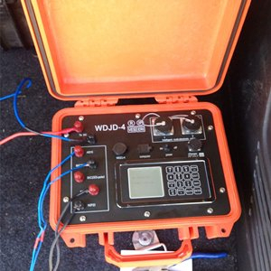Gumagana ang WGMD-4 Multi Electrode Resistivity Surveying System sa Turkey
