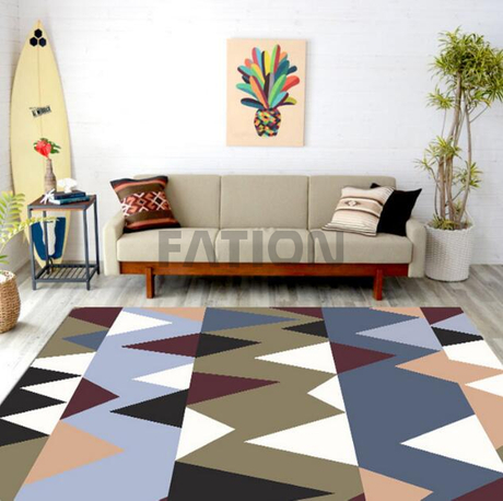 Hot Sell Polyester Print Carpet Competitive Price Area Rug