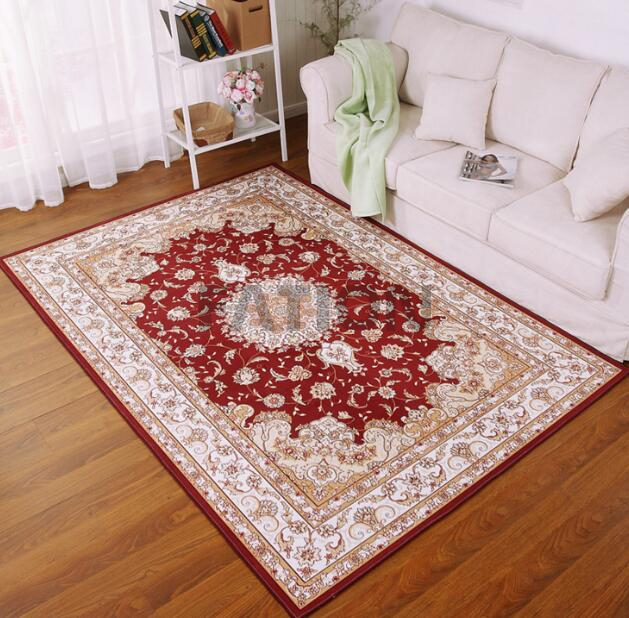 Hot Sell Persian Design Rug Print Floor Carpet