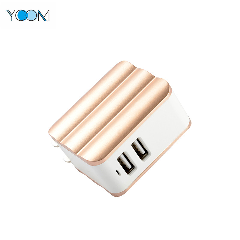 2 USB Port USB Charger Wall Charger for Mobile Phone