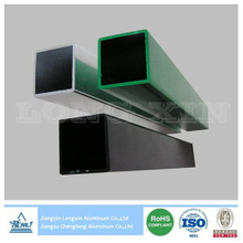 Colorful Anodized Aluminium Square Tube