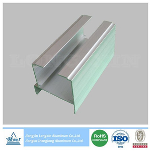 Silver Anodized Aluminium Profile for Lifting Door