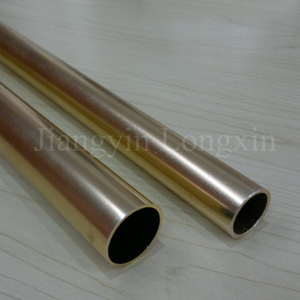 Golden Anodized Aluminum Tube