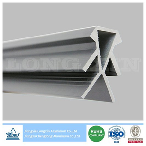 Silver Anodized Aluminium Profile for Exhibition