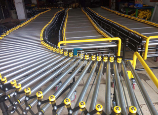 Gravity Rooller Flexible Conveyor