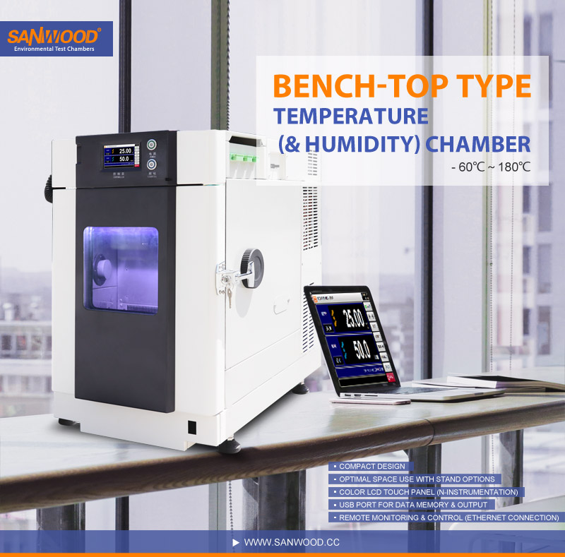 Bench-Top Temperature and humidity test chamber