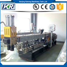 parallel co-rotating twin screw extruder for white masterbatch