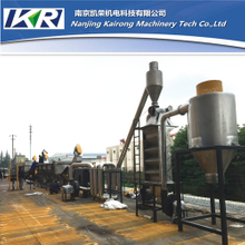 PET bottles recycling line with washing,crushing,drying and granulating machines