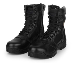 99015 Genuine leather military swat tactical boots