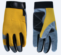 Cowhide Leather Mechanic Gloves