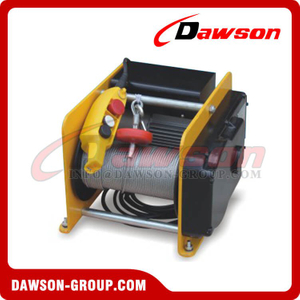 DS-KDJ-250B DS-KDJ-500B DS-KDJ-250B1 DS-KDJ-500B1 250-500kg Electric Wire Rope Windlass