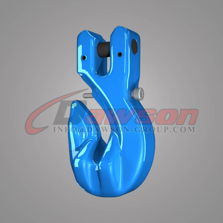 Grade 100 Special Clevis Grab Hook with Safety Pin, G100 Forged Clevis Grab Hook for Lifting Chains - China Manufacturer, Supplier - Dawson Group Ltd.