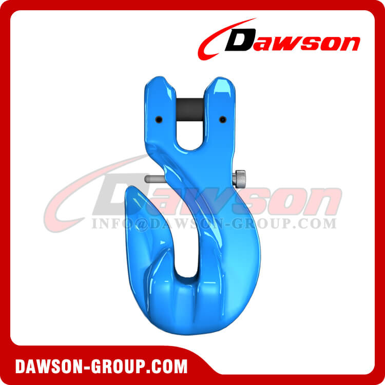 G100 Special Clevis Grab Hook with Safety Pin, Forged Alloy Steel Clevis Grab Hook for Chains - China Manufacturer, Supplier