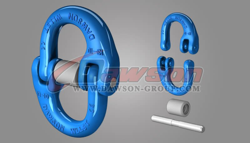 Grade 100 Japanese Type Connecting Link, G100 Chain Connector for Lifting Slings - China Manufacturer Supplier - Dawson Group Ltd.