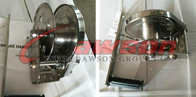 1200LBS SS304 Small Stainless Steel Reversible Hand Winches - China Manufacturer, Exporter