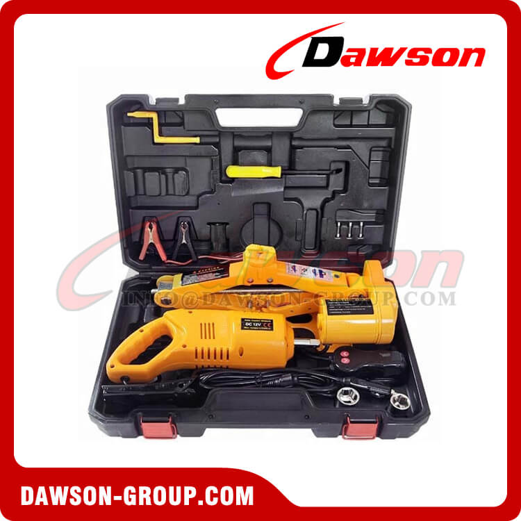 12V DC 2T ELECTRIC SCISSOR JACK WITH ELECTRIC IMPACT WRENCH - DAWSON GROUP LTD. - CHINA MANUFACTURER, SUPPLIER