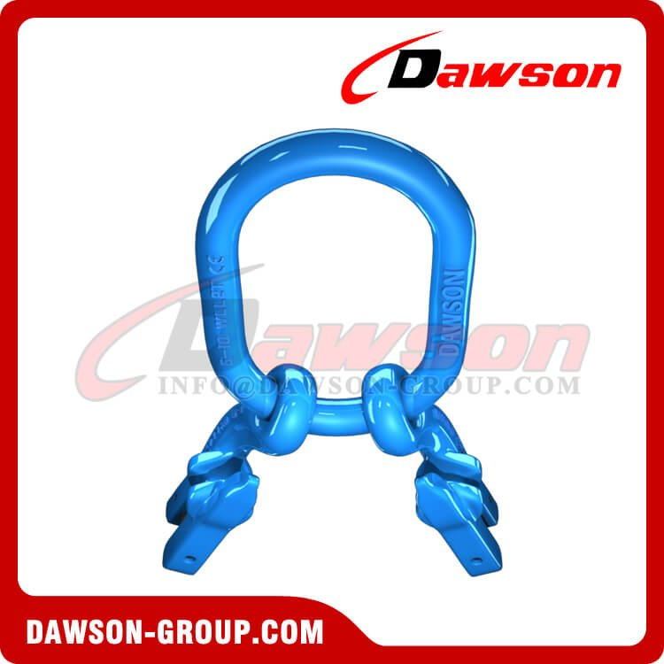 G100 Master Link + G100 Eye Grab Hook with Clevis Attachment × 2 - Dawson Group Ltd. - China Supplier, Exporter