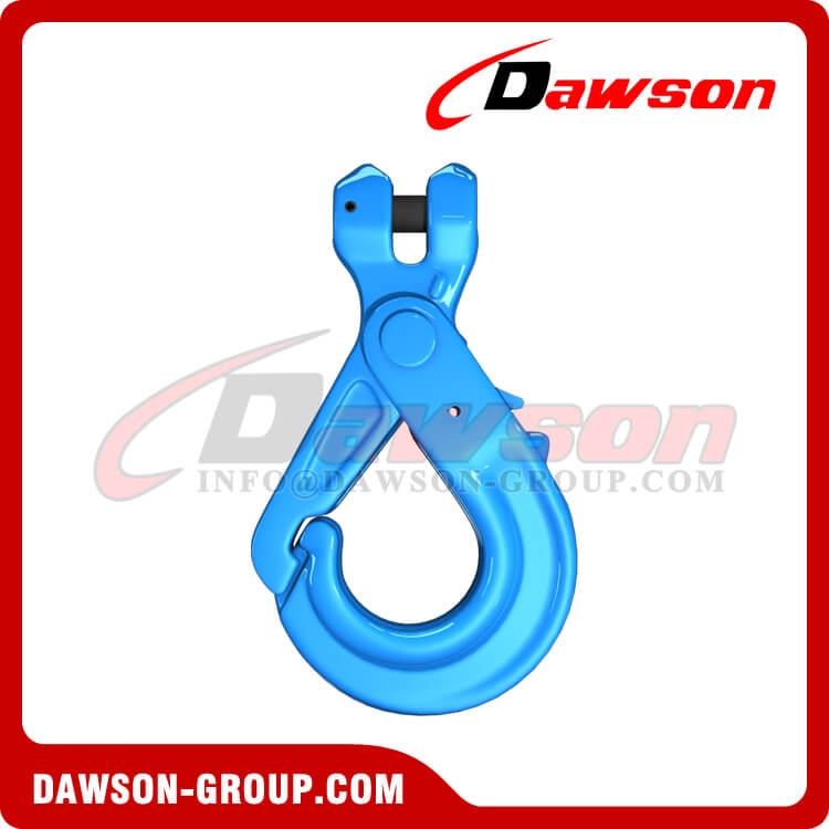 G100 Special Clevis Self-locking Hook with Grip - Dawson Group Ltd. - China Supplier, Factory