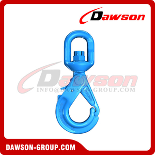 DS1018 G100 Special Swivel Self-locking Hook with Grip Latch for Chain Slings