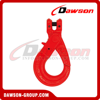 G80 / Grade 80 European Type Clevis Self-Locking Hook