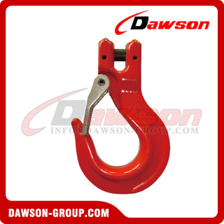 G80 / Grade 80 Clevis Slip Hook with Latch for G80 EN818-2 Chain
