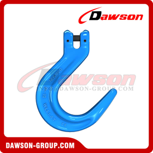 G100 / Grade 100 Forged Alloy Steel Clevis Foundry Hook, Large Opening Hook
