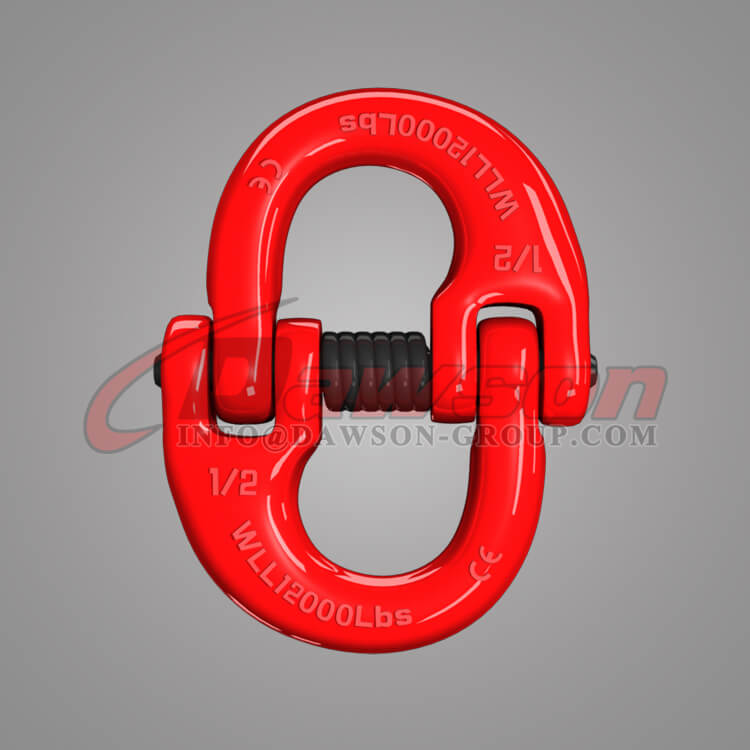 "Hammer Lock Chain Connector 2-5//8/"" Grade 80 Coupling Link Hammerlock Qty"
