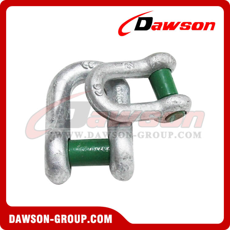 Forged Trawling Dee Shackles with Square Sunken Hole - China Supplier