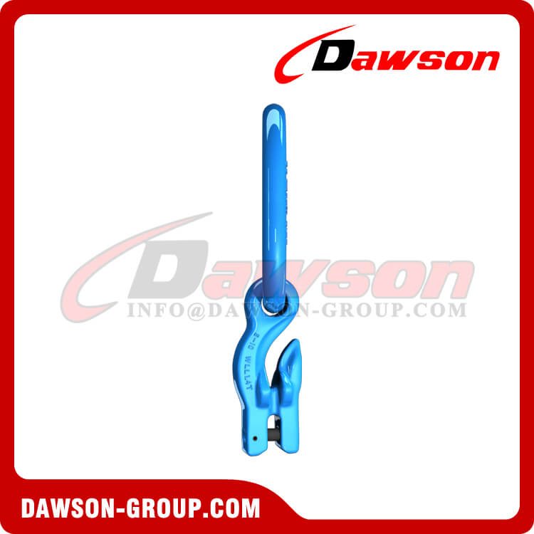 G100 / Grade 100 Master Link with Eye Grab Hook with Clevis Attachment for Adjust Chain Length