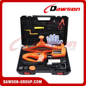 DC 12V 2T or 3T 42CM Electric Scissor Jack Suit