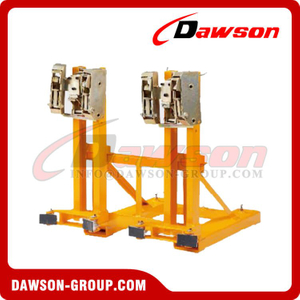 DS-DR Series Heavy Duty Gator Grip Forklift Drum Grab Clamp