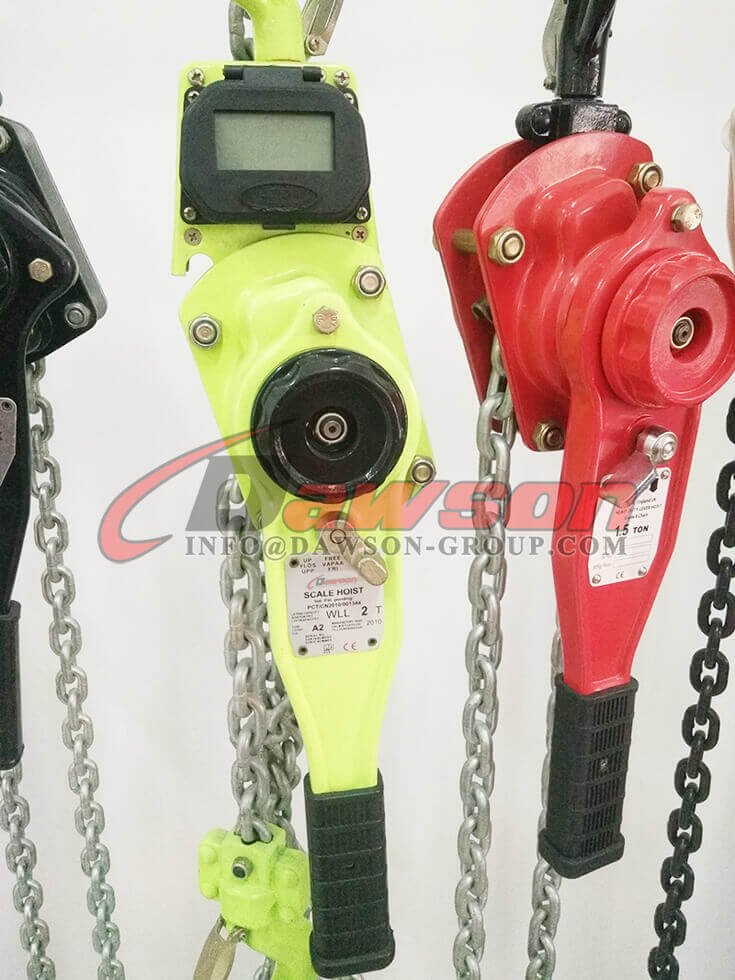 Crane Scale Lever Hoist with Display for 1Ton and 2Ton - Dawson Group Ltd. - China Manufacturer, Supplier