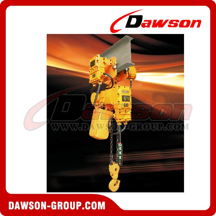 Electric Explosion-Proof chain Hoist 1-35T - Dawson Group Ltd. - China Manufacturer
