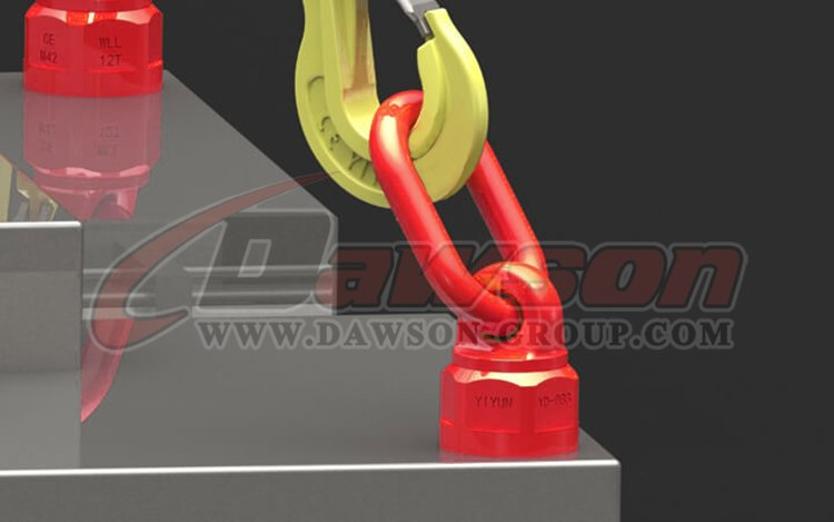 application of DS303 G80 Lifting Screw Point China factory