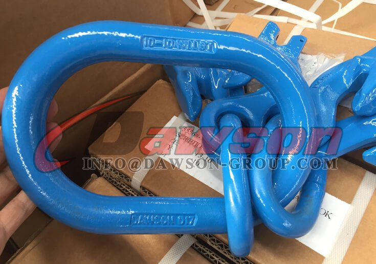 Grade 100 Master Link Assembly with 4 Grab Hook - Dawson Group Ltd. - China Supplier