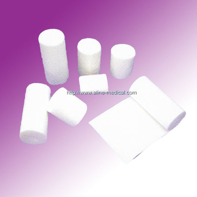 Cotton bandages roll