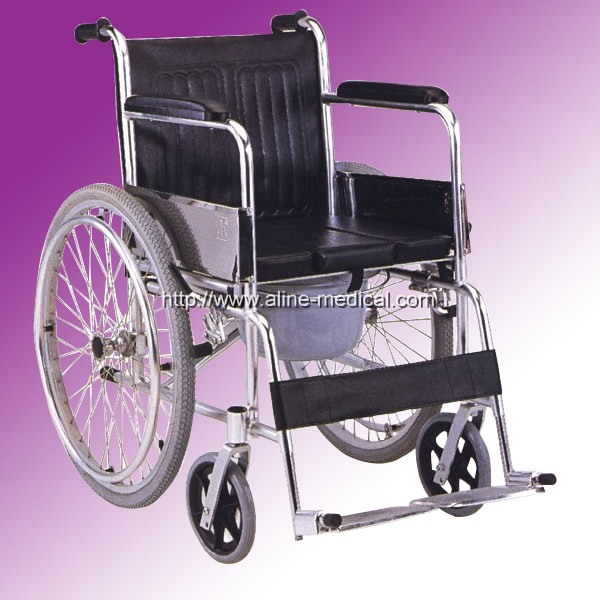 Commode wheelchair