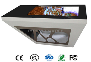 "Dedi 43"" interactive capacitive touch screen game table with Android OS/smart touch table"