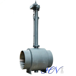 Extended Stem Fully Welded Body Underground Ball Valve