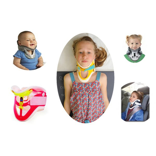 adult children baby use neck brace for neck support avoid injury