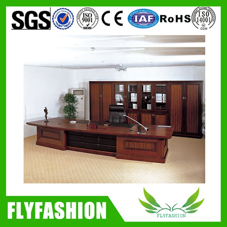 office solid wood furniture boss executive desk (ET-02)