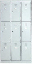 Steel Cabinet with 9 Doors (ST-04A)