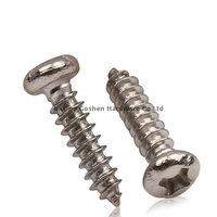 5/16 x 1 button head stainless steel self tapping screw for trailer decking