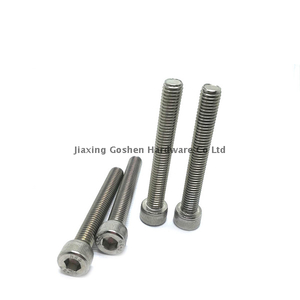 metric 2.5 long stainless steel hex socket head screws for trailers