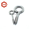 Stainless Steel Screw Thread Lag Eye Bolt for Wood