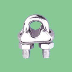 S/S ITALIAN TYPE WIRE ROPE CLIP