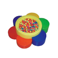 Flower Shape Baby Soft Play Ball Pit Equipment