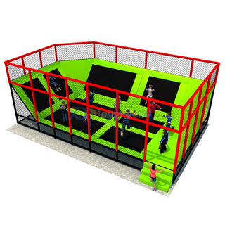 Customized Amusement Small Trampoline Park for Kids