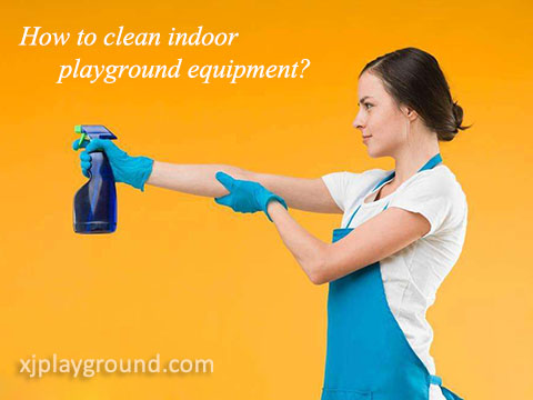How to clean soft play equipment?