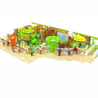 New Design Indoor Playground Children Soft Play Structure Game